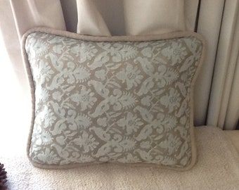 Delfino Pattern FORTUNY ACCENT PILLOW