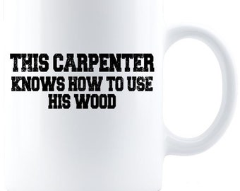 Carpenter Coffee Mug - White