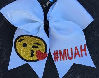 Emoji #muah bow