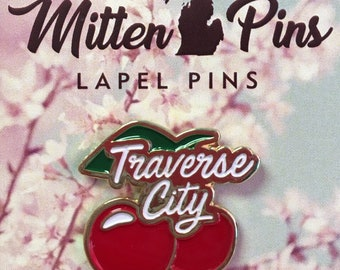 Mitten Pins - Traverse City