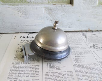 Vintage Counter Top Hotel Bell With Mount