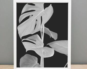 Abstract Leaf Printable Art