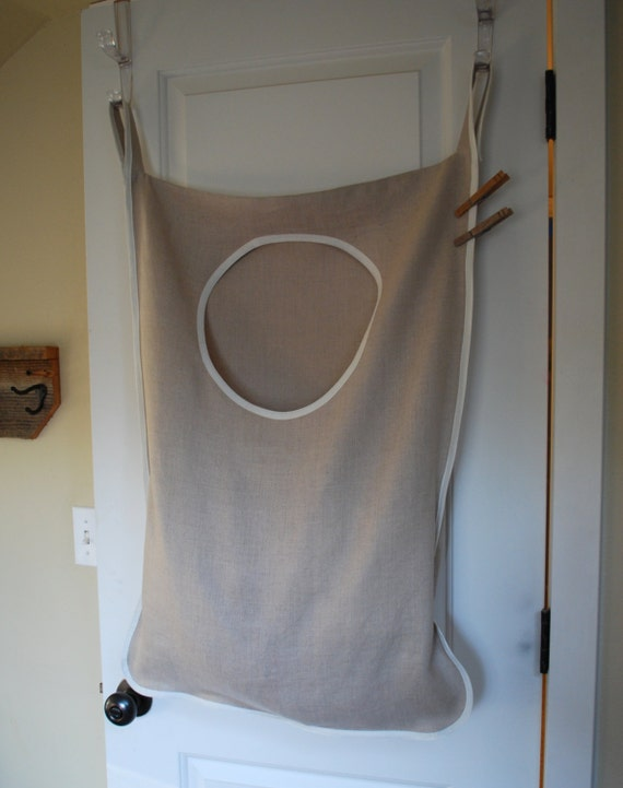 laundry bag h&er hanging natural linen & Hanging Laundry Hamper - dipyridamole.us