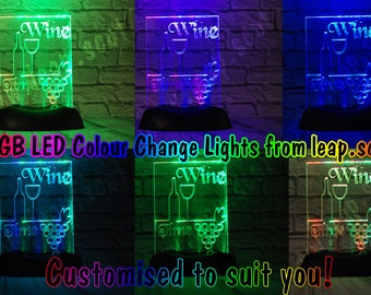 RGB LED Colour Change Light/sign