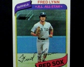 1980 Topps Baseball #110 Fred Lynn [Boston Red Sox]