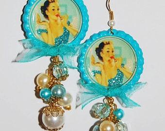1950s Inspired Earrings