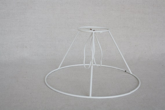 Vintage lamp shade metal wire frame lamp shade wire frame vintage lamp shade metal wire frame lamp shade wire frame lampshade frame craft supplies shabby chic greentooth Images