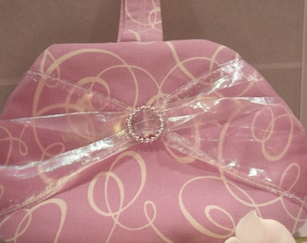 Lilac Clutch Wristlet