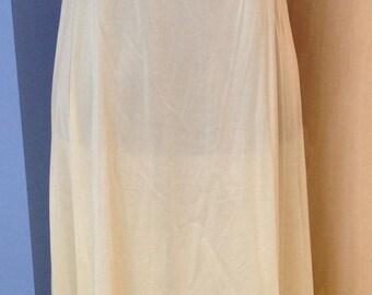 Vassarette Yellow Nightgown