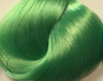 Nylon Doll Hair, Deluxe OOAK, Algae Tress, Rerooting