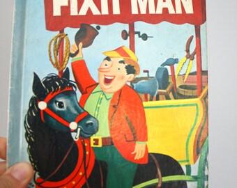 1952 The Fixit Man Wonder Book