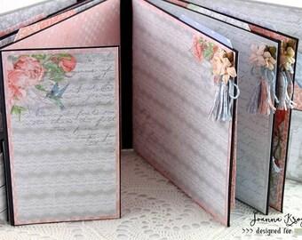 Scrapbook Mini Album, Handmade, Homemade, Handgemachtes Album, Memory Album, Photo Mini Album, Keepsake Mini Album