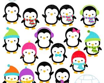 penguin clipart etsy rh etsy com penguin clip art for kids penguin clip art pictures
