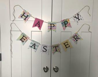 Pattern Easter banner