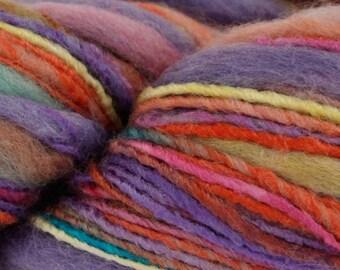 King Cole Bamboozle Yarn, Rainbow, 100gms, Bulky, Chunky, Art Yarn