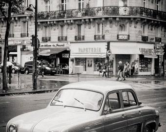 vintage Renault, Paris 2014.