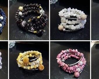 Gemstone bracelets handcrafted gemstone bracelet