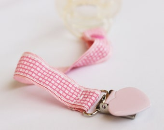 Baby Girl Pacifier holder, Soothie pacifier clip, Baby pacifier clip, Binky Clip, Baby Girl pacifier, Dummy clip, Baby Girl Gift
