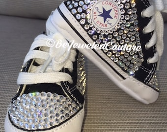 baby converse shoes for girls grey