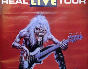 Iron Maiden 22x34 Real Live Tour Poster 1993