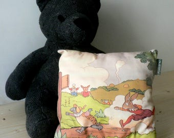 Cushion Fable, the tortoise and the Hare