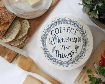 Collect moments not things, Kitchen linen, Linen for kitchen
