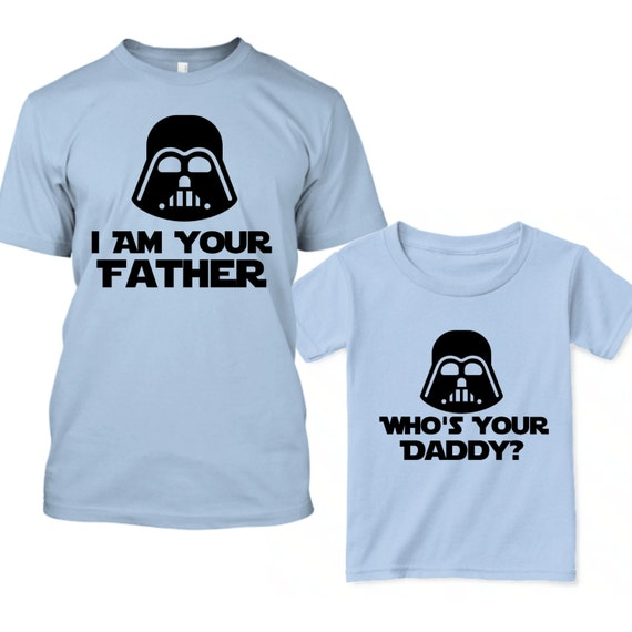 p re fils star wars chemises t shirt de papa star wars star. Black Bedroom Furniture Sets. Home Design Ideas