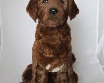 Custom Pet Replica Plush Portrait Deposit