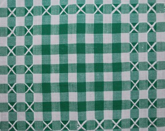 Tablecloth - Green Gingham