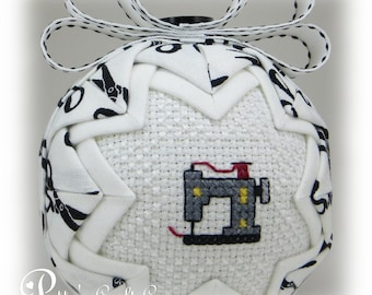 Quilted Ornament - You're Sew Special / Sewing Machine - Sewing Ornament - Crafters Ornament - Hobby Ornament