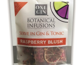 Gin & Tonic Botanical Infusion bags. 6 Raspberry Blush flavour