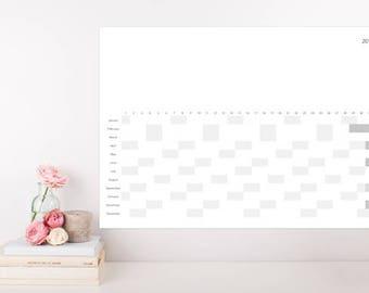 NEW* 2018 Year Calendar Landscape, Wall Calendar, Calendar Poster