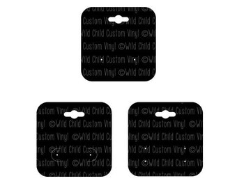 Earring Display Cards SVG, Earring Display SVG, Earring Cards SVG, Earring Display svg, Earring cards, Earring display cards svg