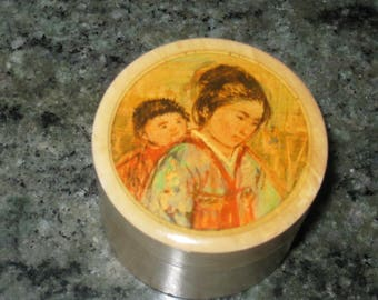 Edna Hibel collectible box