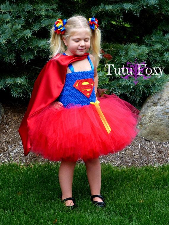 sc 1 st  Etsy & Superman Tutu Dress Superman Costume Supergirl Tutu Dress