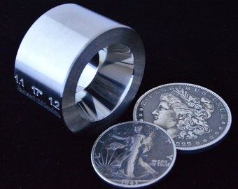 """One 1.1"""" x 1.2"""" @ 17 degrees Universal Folding/Reduction Die Hardened Stainless Steel"""