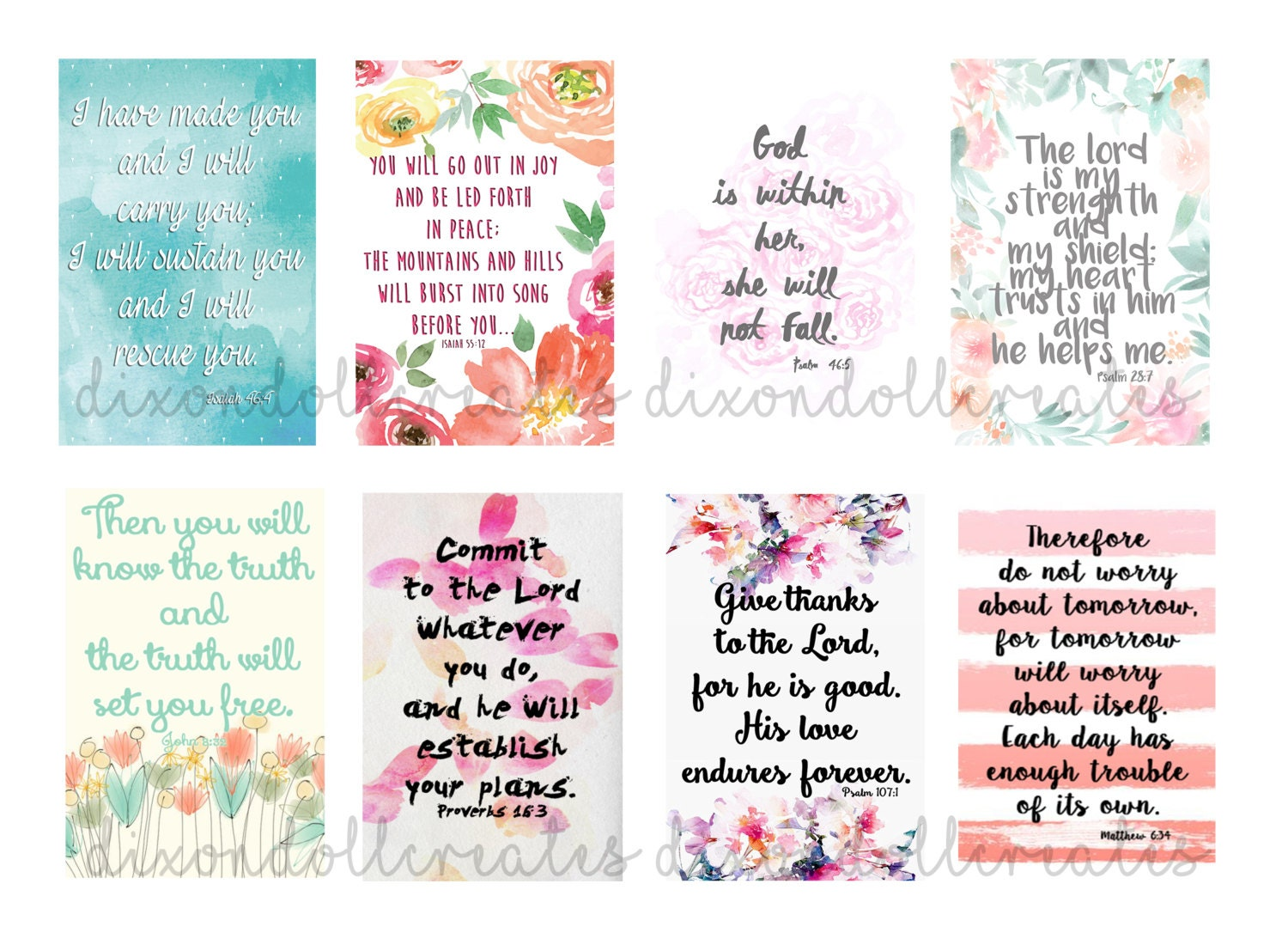 Bible Quotes About Happiness Bible Scripture Planner Stickers Happy Planner Stickers