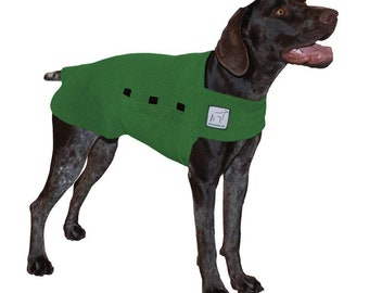 GERMAN SHORTHAIRED POINTER Tummy Warmer, Fleece Dog Coat, Sweater for Dogs, Dog Jacket, Shirt for Dogs, Dog Sweatshirt, Dog Clothes, Gift