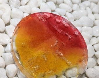 4 Inch Resin Petri Coaster Galaxy Mold Ink FIRST RUN (Slightly Discounted)