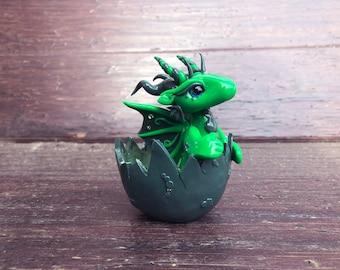 Clay Dragon Figurine Baby Dragon Figurine