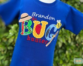 Personalized Bug Hunter Birthday Shirt