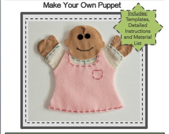 PDF Template Download - Baby Hand Puppet