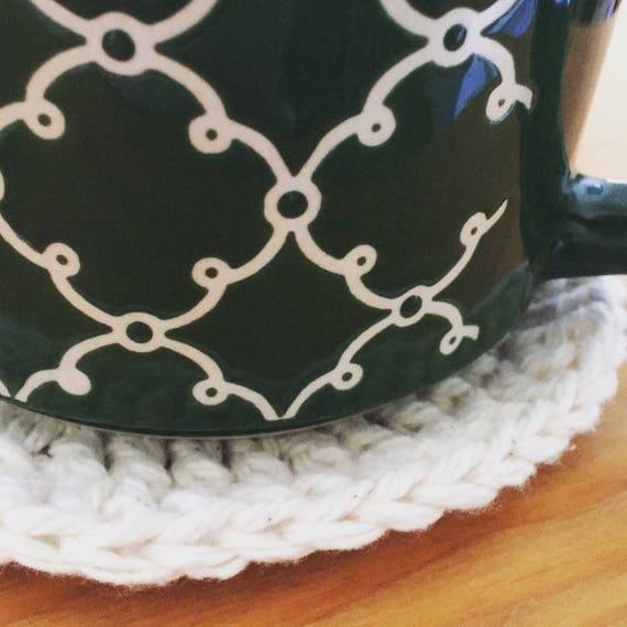 Vintage Style Crochet Coasters