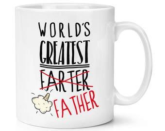 World's Greatest Farter Father 10oz Mug Cup