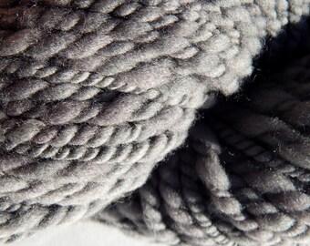 Grey Gardens-Plant Dyed Handspun Yarn