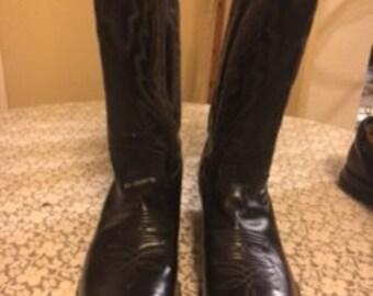 Diamond J Western Cowboy Boots
