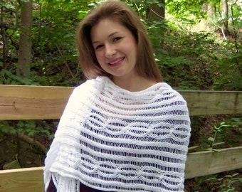 Leap of Faith Shawl Knitting Pattern