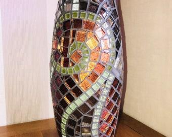 Large Handmade mosaic vase