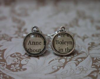 Anne ~ Boleyn Earrings ~ The Tudors ~ King Henry VIII ~