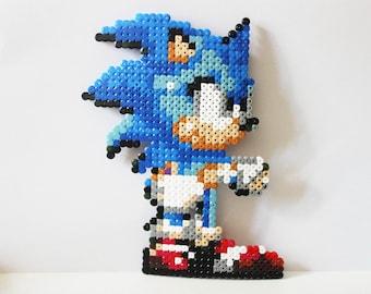 Sonic pearls hama (pixel art)